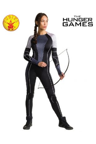 Katniss Everdeen, Officially Licensed Hunger Games Costume - Buy Online with Afterpay, Paypal or Layby at Little Shop of Horrors Costumery - Costume Shop Melbourne