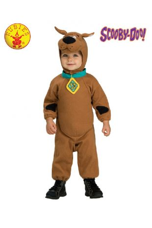 Scooby-Doo Baby Costume, Officially Licensed Scooby Doo Costume - Buy Online with Afterpay, Paypal or Layby at Little Shop of Horrors Costumery - Costume Shop Melbourne