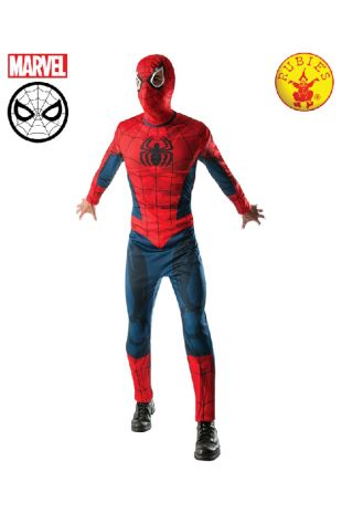 Spiderman Costume available to buy with Afterpay, Paypal or Layby at Little Shop of Horrors Costumery - The best costume shop in Melbourne