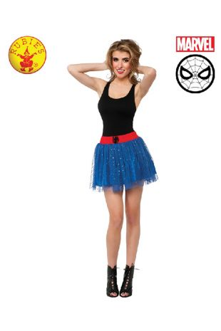 Spidergirl Costume available to buy with Afterpay, Paypal or Layby at Little Shop of Horrors Costumery - The best costume shop in Melbourne