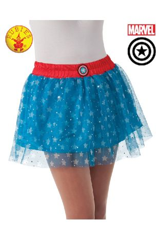 Avengers Skirt Costume available to buy with Afterpay, Paypal or Layby at Little Shop of Horrors Costumery - The best costume shop in Melbourne