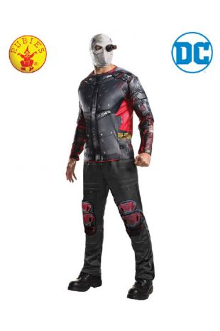 Deadshot, Suicide Squad Officially Licensed DC Comics Costume - Buy Online with Afterpay, Paypal or Layby at Little Shop of Horrors Costumery - Costume Shop Melbourne