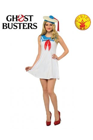 Stay Puft Marshmallow Man Costume, Officially Licensed Ghostbusters Costume - Buy Online with Afterpay, Paypal or Layby at Little Shop of Horrors Costumery - Costume Shop Melbourne