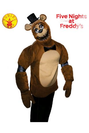 Freddy Fazbear Costume, Officially Licensed Five Nights at Freddy's Costume - Buy Online with Afterpay, Paypal or Layby at Little Shop of Horrors Costumery - Costume Shop Melbourne