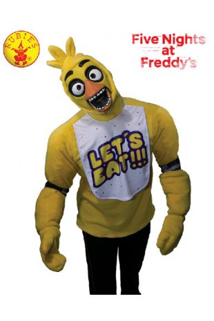 Chica Costume, Officially Licensed Five Nights at Freddy's Costume - Buy Online with Afterpay, Paypal or Layby at Little Shop of Horrors Costumery - Costume Shop Melbourne