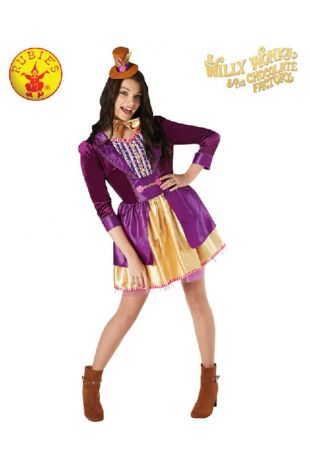 Willy Wonka Officially Licensed Costume - Buy Online with Afterpay, Paypal or Layby at Little Shop of Horrors Costumery - Costume Shop Melbourne