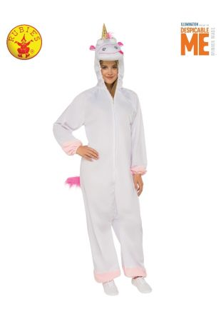 FLUFFY UNICORN COSTUME, ADULT