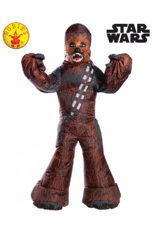 Chewbacca Star Wars Officially Licensed Costume - Buy Online with Afterpay, Paypal or Layby at Little Shop of Horrors Costumery - Costume Shop Melbourne