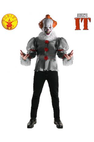 Pennywise Costume, Officially Licensed IT Costume - Buy Online with Afterpay, Paypal or Layby at Little Shop of Horrors Costumery - Costume Shop Melbourne