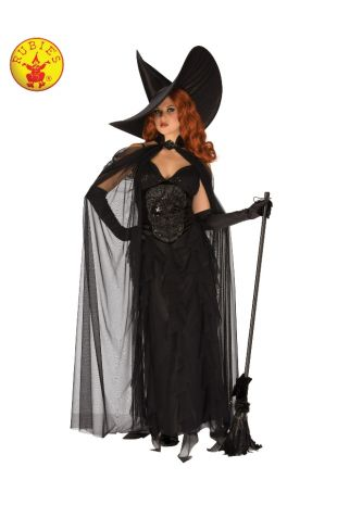 ELEGANT WITCH COSTUME, ADULT