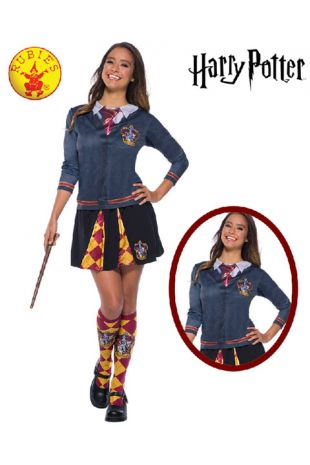 Gryffindor Top - Harry Potter Officially Licensed Costume - Buy Online with Afterpay, Paypal or Layby at Little Shop of Horrors Costumery - Costume Shop Melbourne