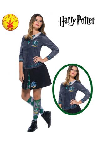 Slytherin Top - Harry Potter Officially Licensed Costume - Buy Online with Afterpay, Paypal or Layby at Little Shop of Horrors Costumery - Costume Shop Melbourne