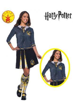Hufflepuff Top - Harry Potter Officially Licensed Costume - Buy Online with Afterpay, Paypal or Layby at Little Shop of Horrors Costumery - Costume Shop Melbourne