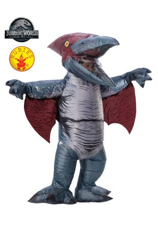PTERANODON DINOSAUR INFLATABLE COSTUME, ADULT