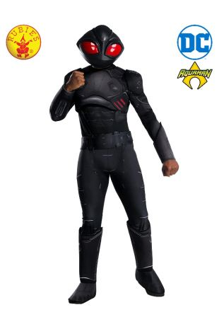 BLACK MANTA DELUXE COSTUME, ADULT