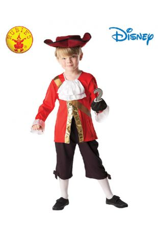 Captain Hook Deluxe Child Costume - Buy Online with Afterpay, Paypal or Layby at Little Shop of Horrors Costumery - Costume Shop Melbourne