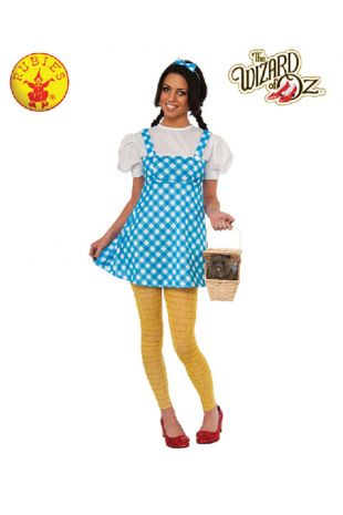 Wizard of Oz Dorothy Officially Licensed Costume - Buy Online with Afterpay, Paypal or Layby at Little Shop of Horrors Costumery - Costume Shop Melbourne