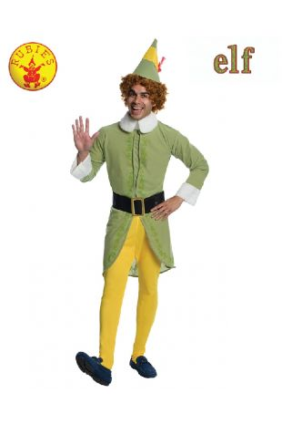 BUDDY THE ELF COSTUME, ADULT