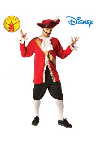 Peter Pan, Captain Hook Officially Licensed Disney Costume - Buy Online with Afterpay, Paypal or Layby at Little Shop of Horrors Costumery - Costume Shop Melbourne
