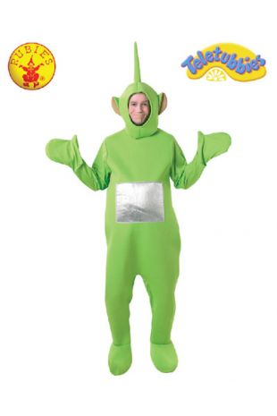 Dipsy, Officially Licensed Teletubbies Costume - Buy Online with Afterpay, Paypal or Layby at Little Shop of Horrors Costumery - Costume Shop Melbourne