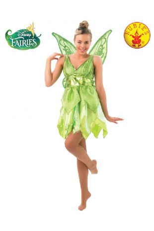 Peter Pan, Tinkerbell Officially Licensed Disney Costume - Buy Online with Afterpay, Paypal or Layby at Little Shop of Horrors Costumery - Costume Shop Melbourne
