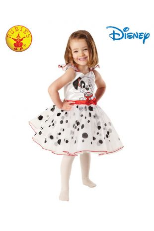 101 Dalmations Officially Licensed Disney Costume - Buy Online with Afterpay, Paypal or Layby at Little Shop of Horrors Costumery - Costume Shop Melbourne