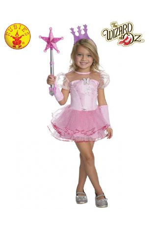 Wizard of Oz Glinda Childrens Costume available at Little Shop of Horrors Costumery the best costume shop in Melbourne, Mornington Peninsula & Frankston
