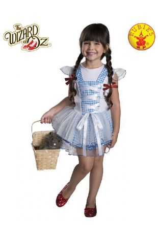 Wizard of Oz Dorothy Childrens Costume available at Little Shop of Horrors Costumery the best costume shop in Melbourne, Mornington Peninsula & Frankston