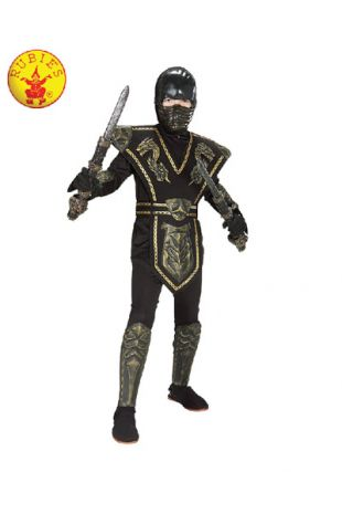 Ninja Costume available to buy with Afterpay, Paypal or Layby at Little Shop of Horrors Costumery - The best costume shop in Melbourne