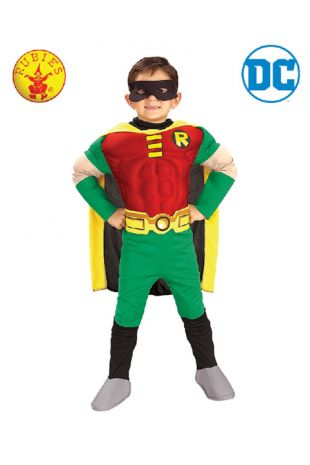 Teen Titan Robin, Batman Officially Licensed DC Comics Costume - Buy Online with Afterpay, Paypal or Layby at Little Shop of Horrors Costumery - Costume Shop Melbourne