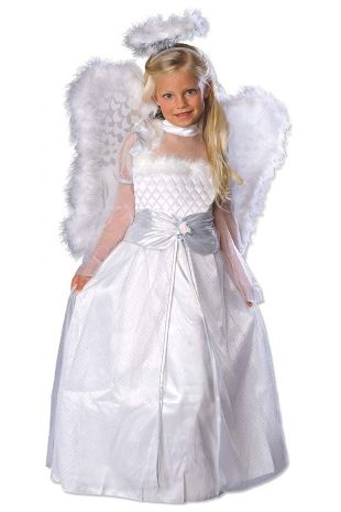 ROSEBUD ANGEL COSTUME, CHILD