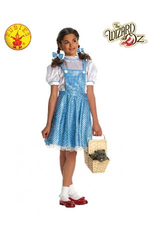 Wizard of Oz Dorothy Child Costume available at Little Shop of Horrors Costumery the best costume shop in Melbourne, Mornington Peninsula & Frankston