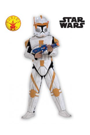 Clone Trooper Commander Cody Star Wars Officially Licensed Costume - Buy Online with Afterpay, Paypal or Layby at Little Shop of Horrors Costumery - Costume Shop Melbourne