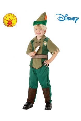 Peter Pan Officially Licensed Disney Costume - Buy Online with Afterpay, Paypal or Layby at Little Shop of Horrors Costumery - Costume Shop Melbourne