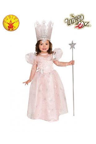 Wizard of Oz Glinda the Good Witch Toddler Costume available at Little Shop of Horrors Costumery the best costume shop in Melbourne, Mornington Peninsula & Frankston
