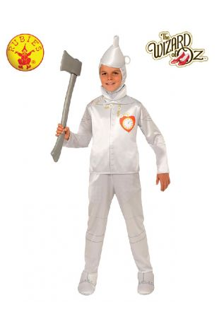 Wizard of Oz Tin Man Child Costume available at Little Shop of Horrors Costumery the best costume shop in Melbourne, Mornington Peninsula & Frankston