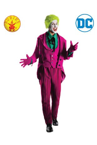 The Joker 1966 Collectors Edition Costume available to buy with Afterpay, Paypal or Layby at Little Shop of Horrors Costumery - The best costume shop in Melbourne