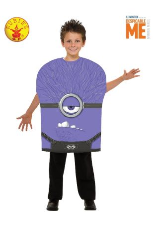 EVIL MINION FOAM COSTUME, CHILD