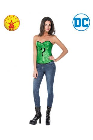 The Riddler Officially Licensed DC Comics Costume - Buy Online with Afterpay, Paypal or Layby at Little Shop of Horrors Costumery - Costume Shop Melbourne