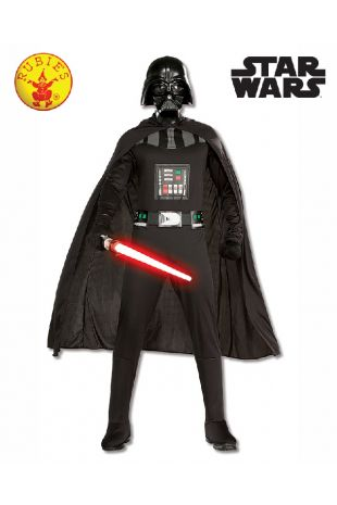 Darth Vader Star Wars Officially Licensed Costume - Buy Online with Afterpay, Paypal or Layby at Little Shop of Horrors Costumery - Costume Shop Melbourne