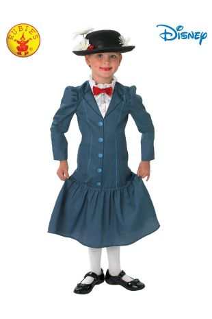 MARY POPPINS DELUXE COSTUME, CHILD