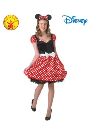Minnie Mouse Officially Licensed Disney Costume - Buy Online with Afterpay, Paypal or Layby at Little Shop of Horrors Costumery - Costume Shop Melbourne