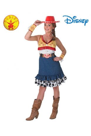 Toy Story Jessie Officially Licensed Disney Costume - Buy Online with Afterpay, Paypal or Layby at Little Shop of Horrors Costumery - Costume Shop Melbourne