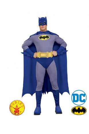 Batman Officially Licensed DC Comics Costume - Buy Online with Afterpay, Paypal or Layby at Little Shop of Horrors Costumery - Costume Shop Melbourne