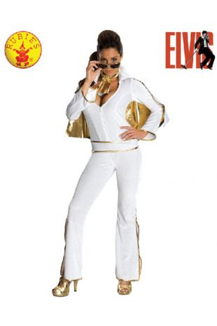Officially Licensed Elvis Presley Costume, available to buy with Afterpay, Paypal or Layby at Little Shop of Horrors Costumery - The best costume shop in Melbourne