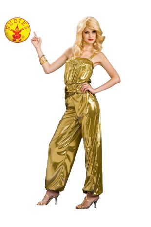 SOLID GOLD DIVA COSTUME, ADULT