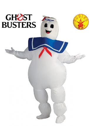 Stay Puft Marshmallow Man Indflatable Costume, Officially Licensed Ghostbusters Costume - Buy Online with Afterpay, Paypal or Layby at Little Shop of Horrors Costumery - Costume Shop Melbourne