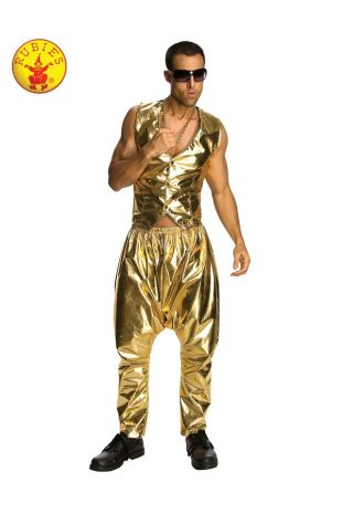 MC HAMMER RAPPER GOLD PANTS