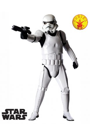 Star Wars Storm Trooper Collectors Edition Costume available to buy with Afterpay, Paypal or Layby at Little Shop of Horrors Costumery - The best costume shop in Melbourne