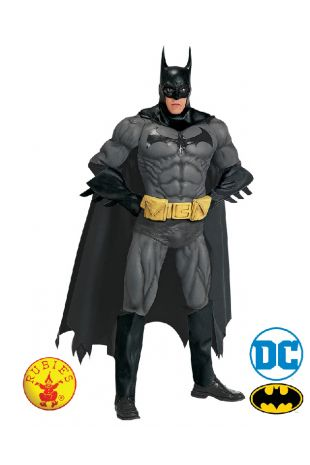 Batman Collectors Edition Costume available to buy with Afterpay, Paypal or Layby at Little Shop of Horrors Costumery - The best costume shop in Melbourne